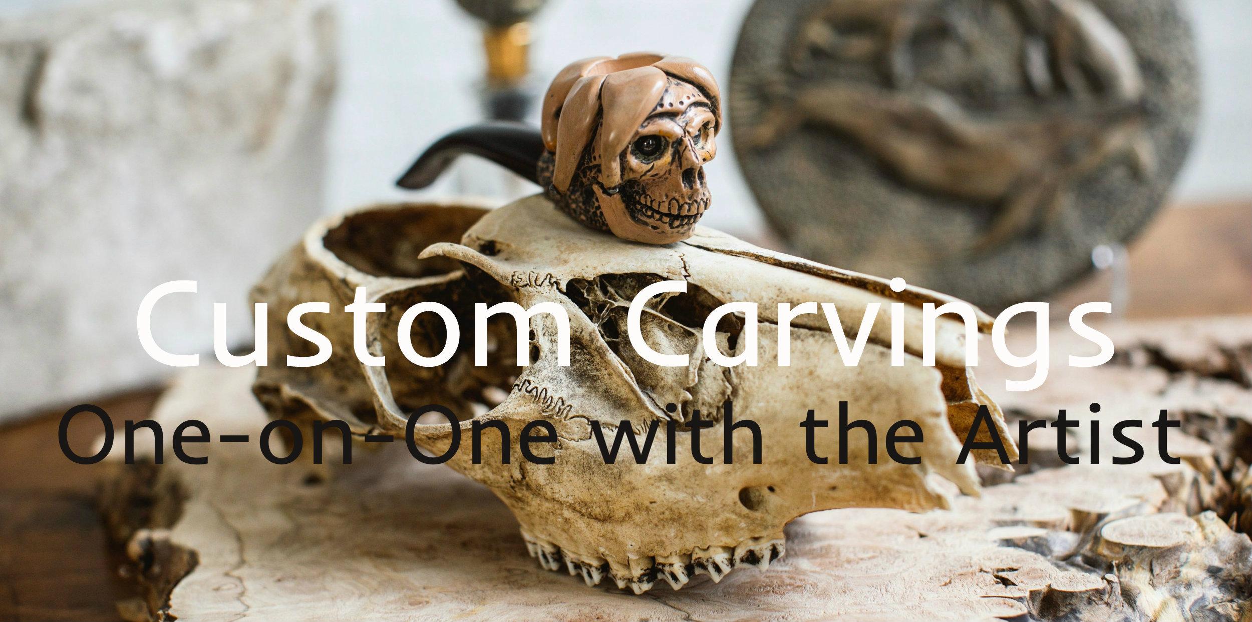 Custom Carving Artist