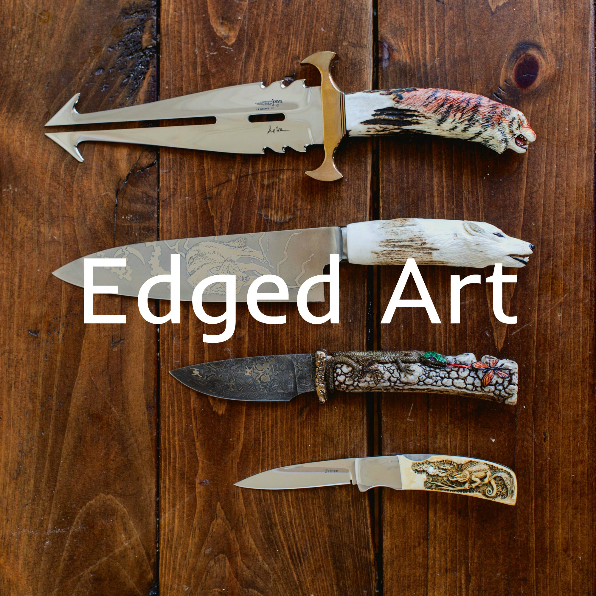 Custom Carved Knives