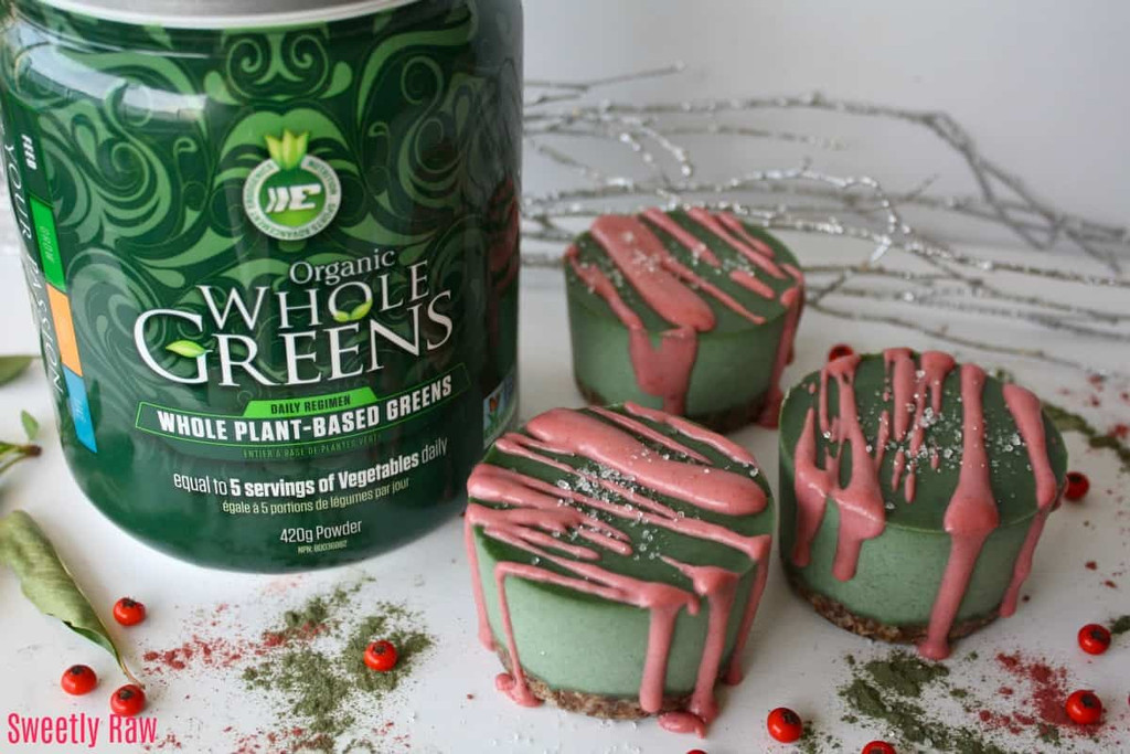 Ergogenics Raw Vegan Holiday Cheesecake