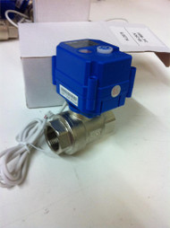 "KLD100 1"" SS Motorized Ball Valve"