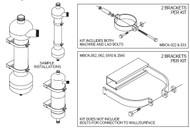Lakos MBCK-033 Mounting Bracket Clamp Kit