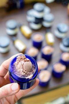 Chocolate Rose Glimmer Facial Treat