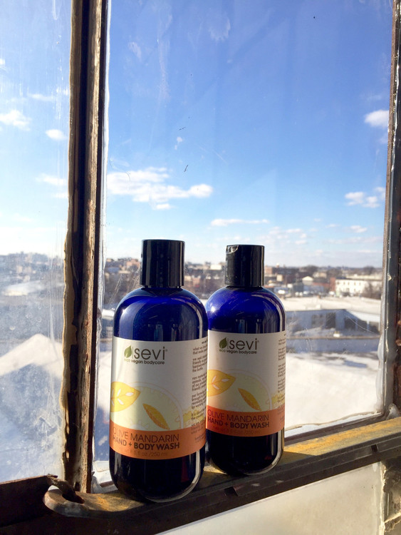 Olive and Mandarin Hand + Body Wash : Pure Liquid Soap
