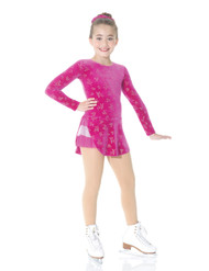 Mondor Figure Skating Dress - 2750 6M Robe Avec Jupe Avec (Magenta)