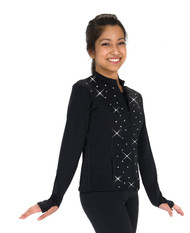 406 Crystal Fleece Ice Skating Jacket