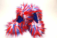 CF21 - Red, White and Blue Crazy Fur