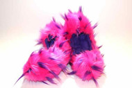 CF02 - Hot Pink and Purple Crazy Fur