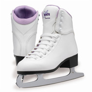 Figure Skates SoftSkate GS180 Fleece Women's size 4 Purple- minor scratch on the front of the skate  (refurbished)