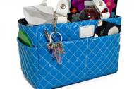 Kiss and Cry Rink Tote - Bubbly Ocean Blue