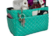 Kiss and Cry Skating Tote - Bubbly Mint Blue