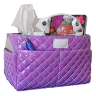 Figure Skating Tote - Bubbly Purple