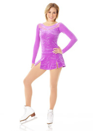 "Mondor 2978 ""Fantasy on Ice"" Mesh Neckline Figure Skating Dress"