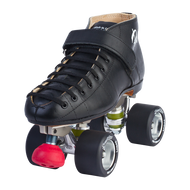Riedell Quad Roller Skates - 695 Black Widow