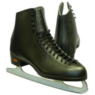 Figure Skates Riedell J75 Kids Black Size 3 D/C Boot Only