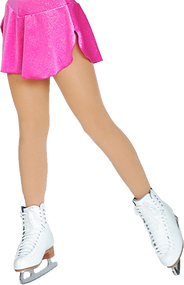ChloeNoel Footed Ice Skating Tights 8830