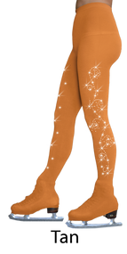 ChloeNoel Over The Boot Ice Skating Tights 8832 2Swirls