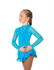 Jerry's Figure Skating Dress 10 - Starshine (Sky Blue)
