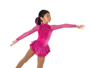 Jerry's Ice Skating  Dress 10 -  Starshine (Fuchsia)