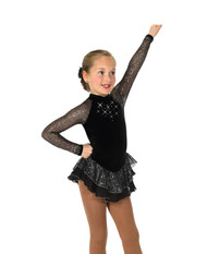 Jerry's Ice Skating  Dress 10 -  Starshine (Black)