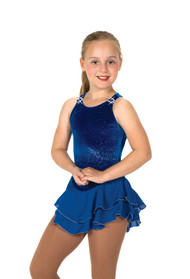 Jerry's Ice Skating  Dress 11 - Shimmer  ( Royal Blue)
