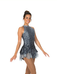Jerry's Ice Skating  Dress 78 - Kissed by Mist  (Silver)