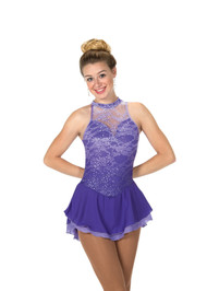 Jerry's Ice Skating  Dress 103 - Lace on Lilacs