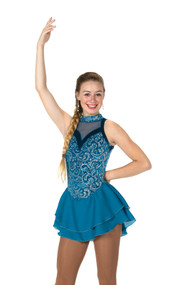 Jerry's Ice Skating  Dress 105 - Teal Reveal