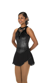 Jerry's Ice Skating  Dress 106 - Lace Drop (Black)
