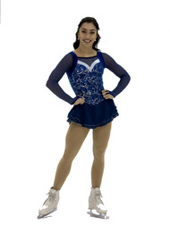 Jerry's Ice Skating  Dress 107 - Wavy Navy