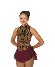 Jerry's Ice Skating  Dress 116 - Essex  (Bordeaux)