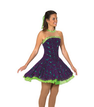 Jerry's Ice Skating  Dress 119 - Swizzle of Lime