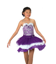 Jerry's Ice Skating  Dress 120 - Dancing Violets
