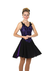 Jerry's Ice Skating  Dress 121 - Row of Bows Dance