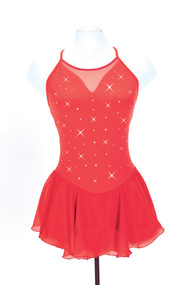 Jerry's Ice Skating  Dress 142 - Mirror  (Red)