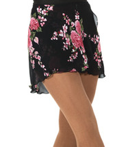 309 Jerry's Floral Print Wrap Skirt