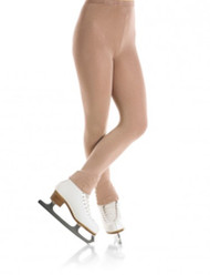 Mondor 3373 Footless Natural Figure Skating Tights