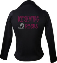 Kami-So Polartec Ice Skating Jacket - Hot Pink-ice