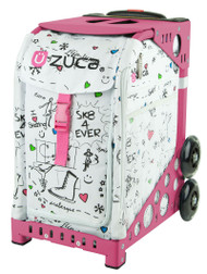 Zuca Sport Bag - Sk8 with Pink Frame