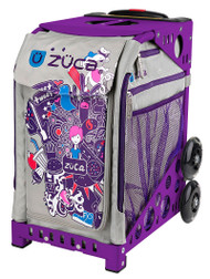 Zuca Sport Bag - NATION with Purple Frame