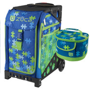 Zuca Sport Bag - PUZZLE + FREE LUNCHBOX