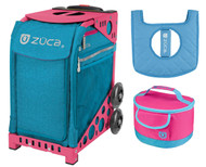 ZUCA Bag Beachy Blue + FREE Lunchbox and Seatcover