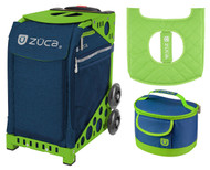 Zuca Sport Bag - Deep Sea Navy + FREE Lunchbox and Seat Cover