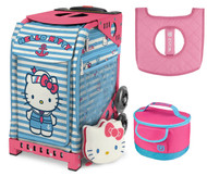 Zuca Sport Bag -  Hello Kitty Sail with Me with Gift Lunchbox and Seat Cover (Pink Frame)