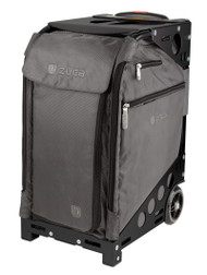 ZUCA PRO TRAVEL BAG - GRAPHITE GREY INSERT AND BLACK FRAME