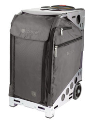 ZUCA PRO TRAVEL BAG - GRAPHITE GREY INSERT AND SILVER FRAME