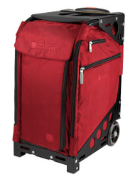 ZUCA PRO TRAVEL BAG - RUBY INSERT AND BLACK FRAME