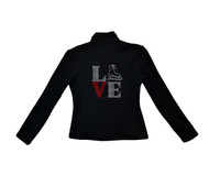 ChloeNoel Outfits - Pants P22 and J42 X Solid Polar Fleece Fitted Jacket - LOVE (Clearance)