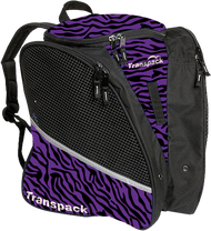 Transpack Ice - Ice skating bag (Purple/Black Zebra)
