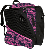 Transpack Ice - Ice skating bag (Pink Tiki Floral)
