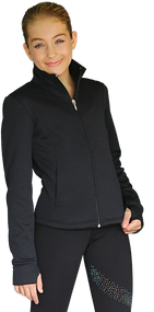 ChloeNoel JT61 Princess Seam Fitted Jacket with Pockets & Thumb Holes